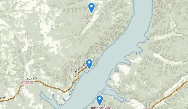 Nathan Bedford Forrest State Park Map