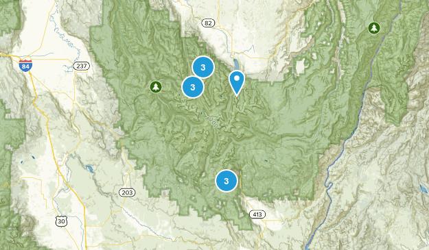 Wallowa Lake State Park Map