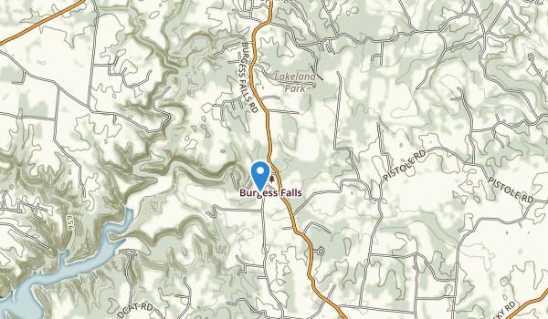 Burgess Falls State Park Map