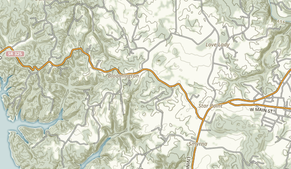 Cordell Hull Birthplace State Park Map