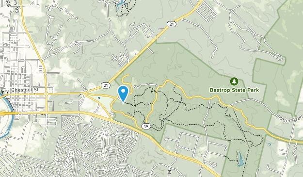 Bastrop State Park Map