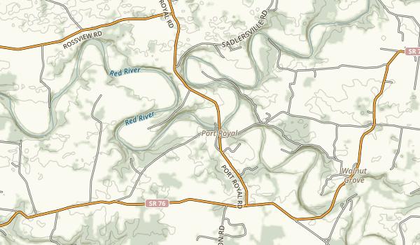 Port Royal State Park Map