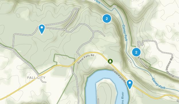 Parque Estatal Rock Island Map