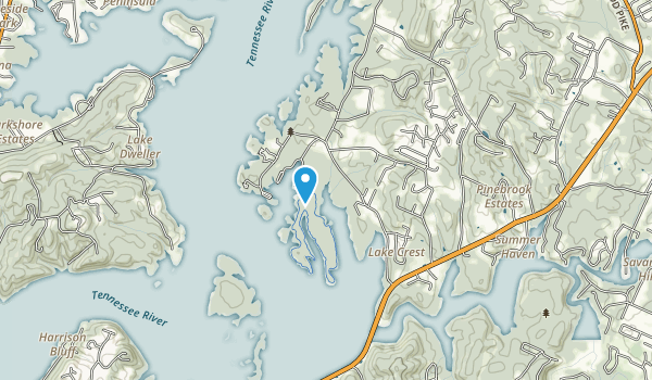 Harrison Bay State Park Map