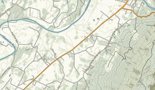Hiwassee/Ocoee Scenic River State Park Map