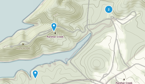 Panther Creek State Park Map