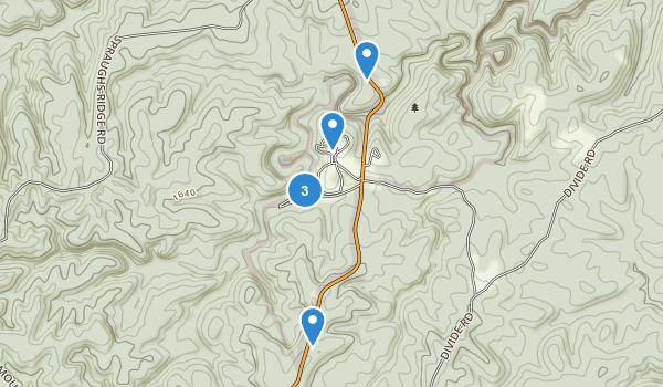 Pickett State Park Map