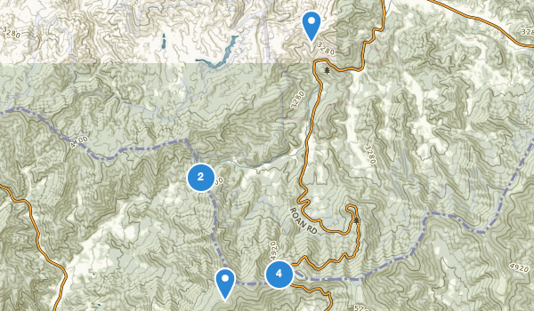 Roan Mountain State Park Map