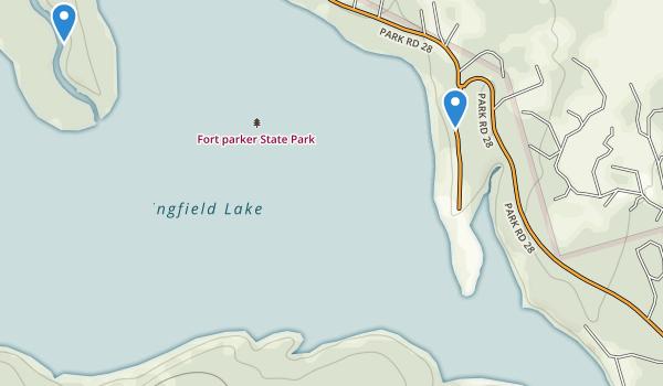 Fort Parker State Park Map