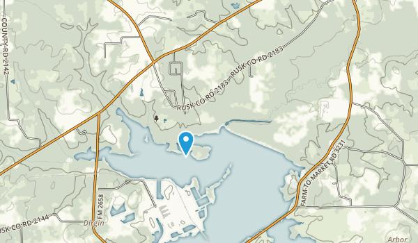 Martin Creek Lake State Park Map