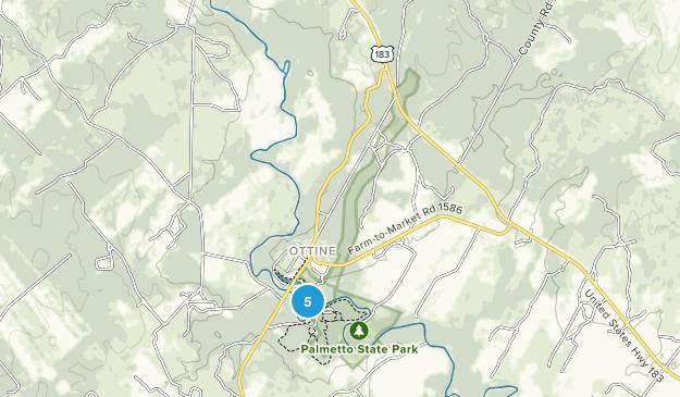 Palmetto State Park Map