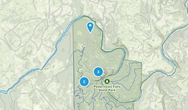 Pedernales Falls State Park Map