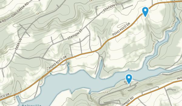 Beltzville State Park Map
