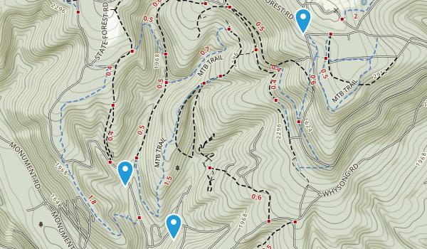 Blue Knob State Park Map