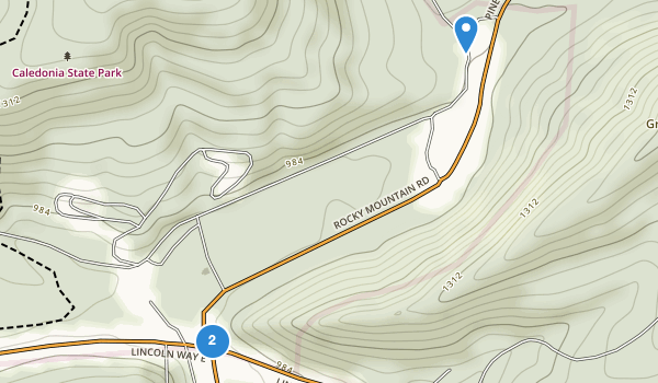 Caledonia State Park Map