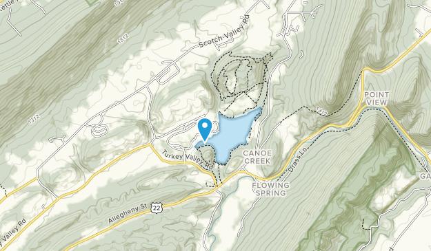Canoe Creek State Park Map