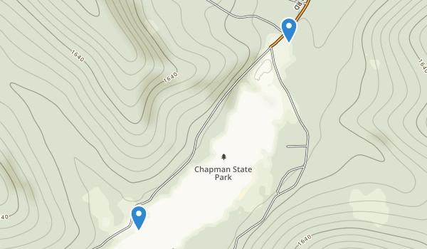 Chapman State Park Map