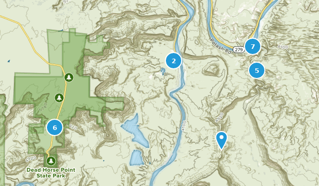 Yellowstone National Park Karte.Best Trails In Dead Horse Point State Park Utah Alltrails