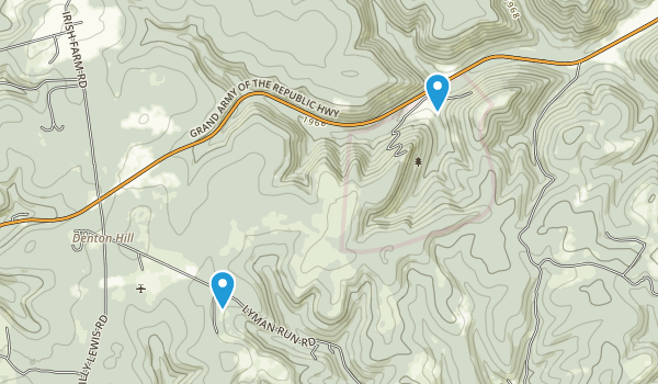 Denton Hill State Park Map