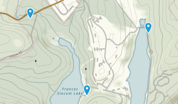 Frances Slocum State Park Map