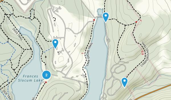 Frances Slocum State Park Map