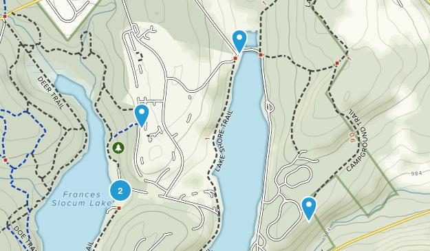Parque Estatal Frances Slocum Map