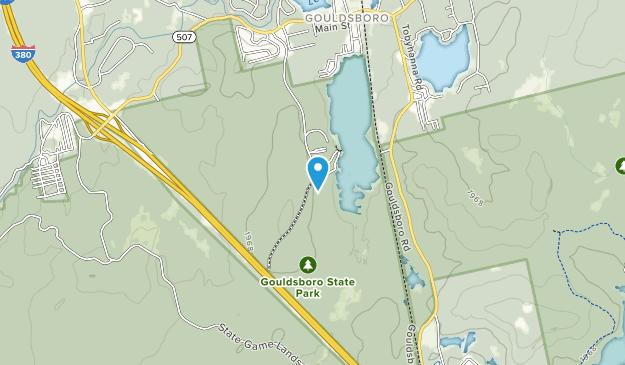 Gouldsboro State Park Map