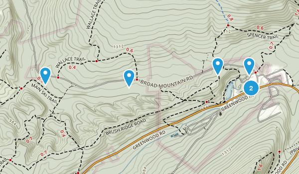 Greenwood Furnace State Park Map