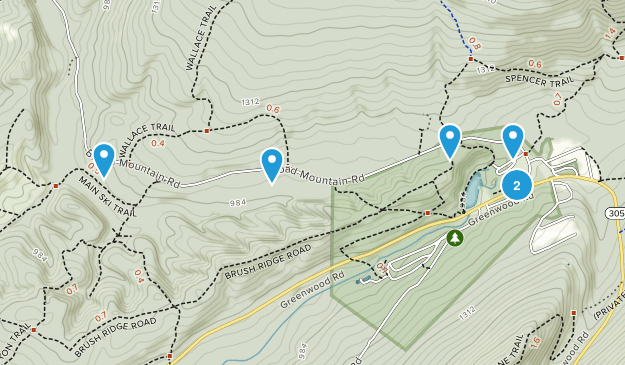 Greenwood Furnace State Park Map