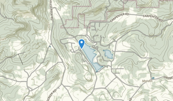 Hills Creek State Park Map
