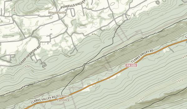 Joseph E. Ibberson Conservation Area Map