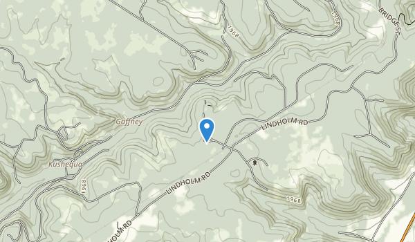 trail locations for Kinzua Bridge State Park