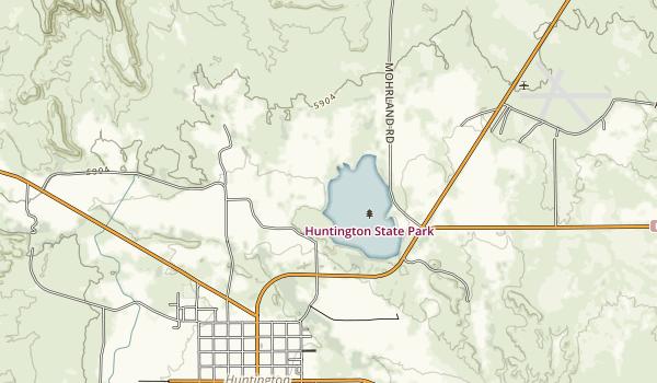 Huntington State Park Map