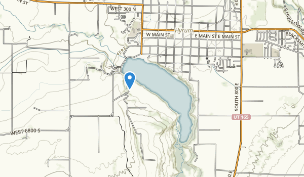 Hyrum State Park Map