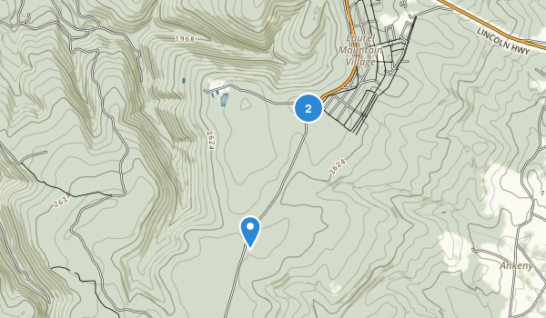 Laurel Mountain State Park Map
