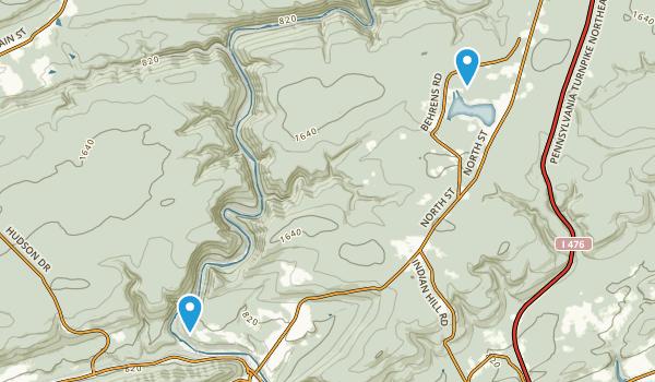 Lehigh Gorge State Park Map