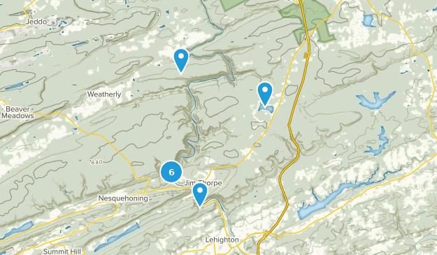 Parque Estatal Lehigh Gorge Map