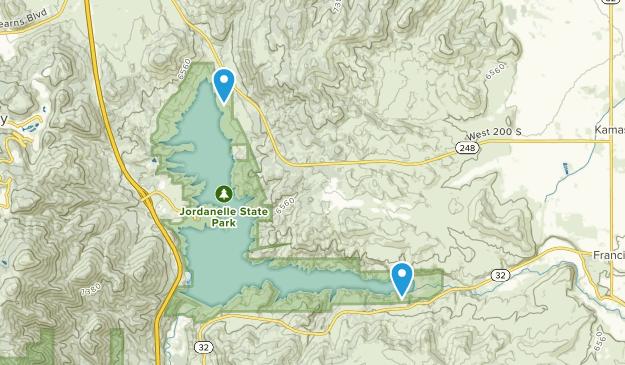 Jordanelle State Park Map