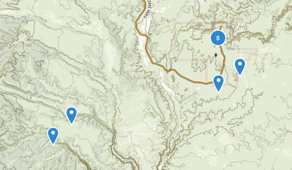 Kodachrome Basin State Park Map