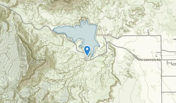 Millsite State Park Map