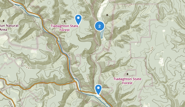 Little Pine State Park Map