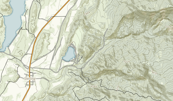 Palisade State Park Map