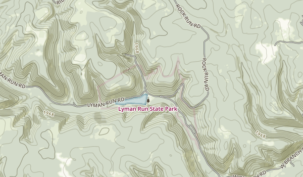 Lyman Run State Park Map