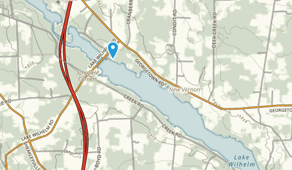 Maurice K. Goddard State Park Map
