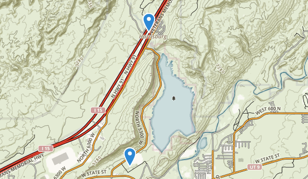 Quail Creek State Park Map