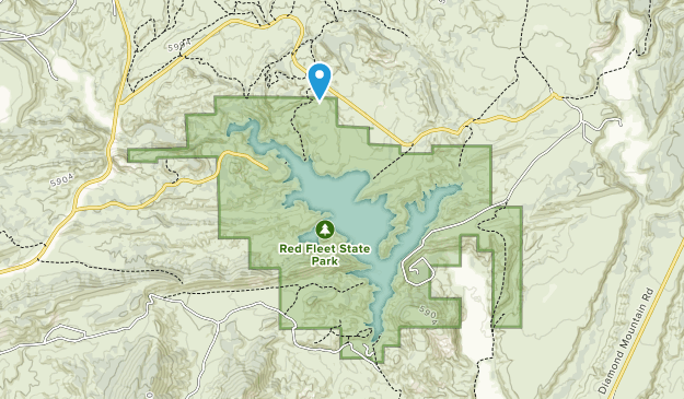 Red Fleet State Park Map