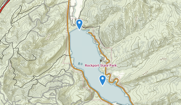 trail locations for Rockport State Park