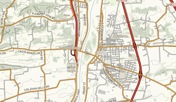 Milton State Park Map