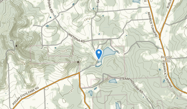 Mt. Pisgah State Park Map