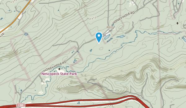 Nescopeck State Park Map